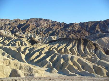 The Valley Of Death, Sand, Rock