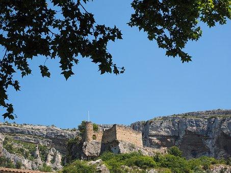 Ruin Of Philippe De Cabassolle, Castle, Burgruine, Ruin