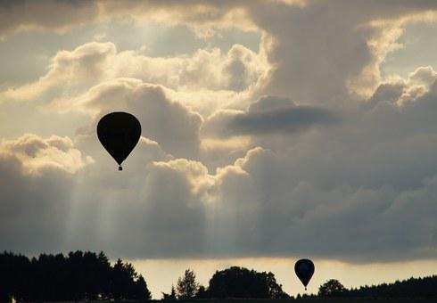 Balloon, Hot Air Balloon, Ballooning, Cozy, Slowly