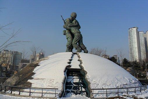 Korea, Seoul, South Korea, Landmark, Travel, Memorial