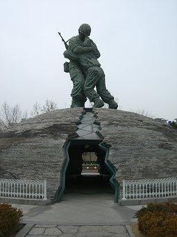 South Korea, Seoul, Korea, Monument, Memorial, War
