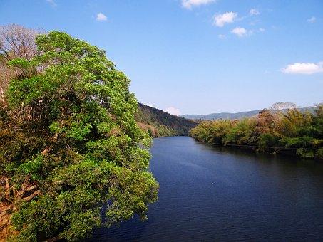 Gangavali River, Greenery, Western Ghats, India, Water