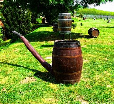 Wine Barrels, Check Form, Vylian Winery, Kisharsány