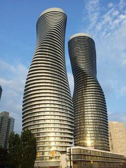 High Rise, Mississauga, Modern, Architecture, Tall