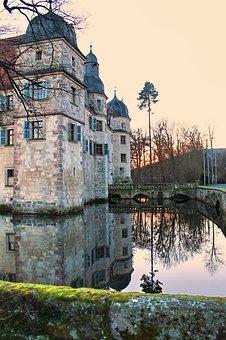 Moated Castle, Mittwitz, Swiss Francs, Bavaria