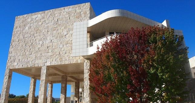 Getty Center, Los Angeles, Building, Architecture