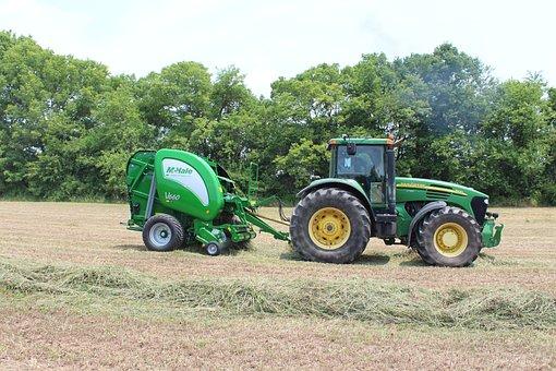 Mchale, Baler, V660, Hay, Tractor
