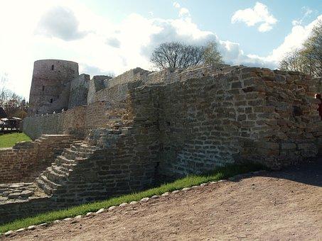 Izborsk, Fortress, Pskov Region