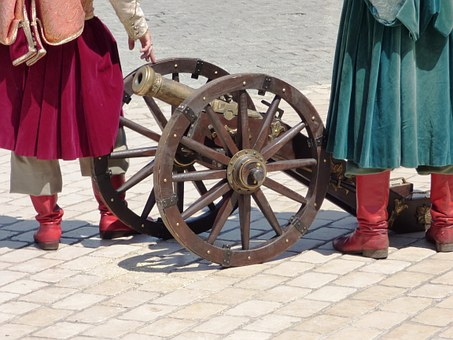 Cannon, Weapon, Old, Monument, Black Powder