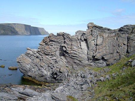 Nature, Rock, Sea, Stone Locations, Rock Deformations