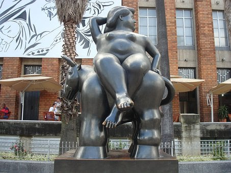 Medellín, Colombia, Botero, Statue, Sculpture, Artwork