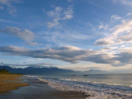 Beach, Philippines, Tropical, Sea, Ocean, Travel