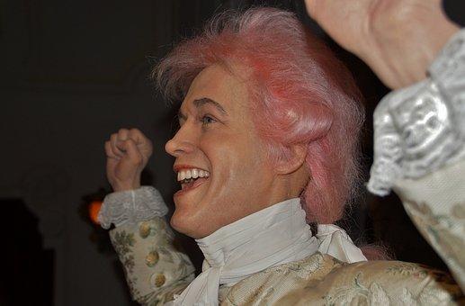 Mozart, The Dummy, Wax, Waxwork, Grevin, Wax Museum