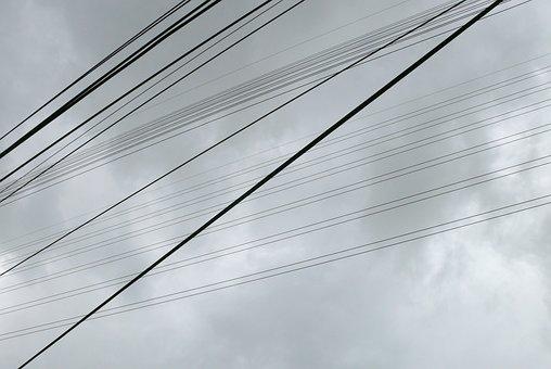 Wiring Hardness, Sky, Gray, 陰