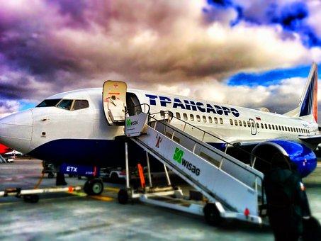 Aircraft, Airport, Tansaero, Airliner, Travel