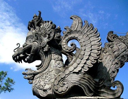 Garuda, Patung, Gilimanuk, Bali, Indonesia, Uniqe, Art