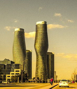 Two, Towers, Marilyn, Building, Tower, Mississauga