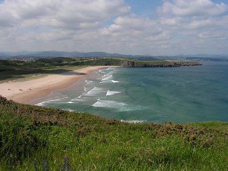 It Xagó, Bay Of Biscay, Beach, Coastal, Landscape