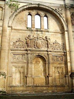 Baeza, Convento De San Francisco, Church, Wall, Stucco