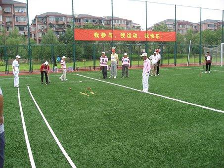 Shanghai, Croquet, Old Age, Community, Sports