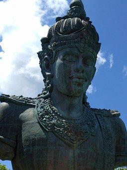 Bali, Indonesia, Statue, Garuda Wisnu Kencana