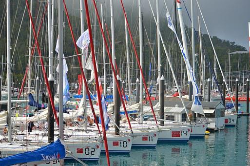 Boats, Yachts, Sailing, Race Round, Hamilton Island