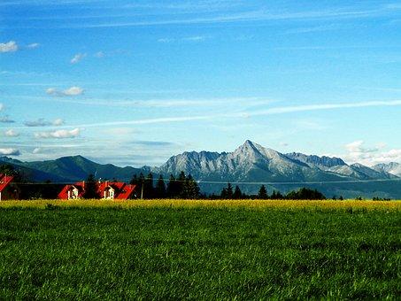 Kriváň, Heaven, Mountains, Country, Slovakia, Liptov