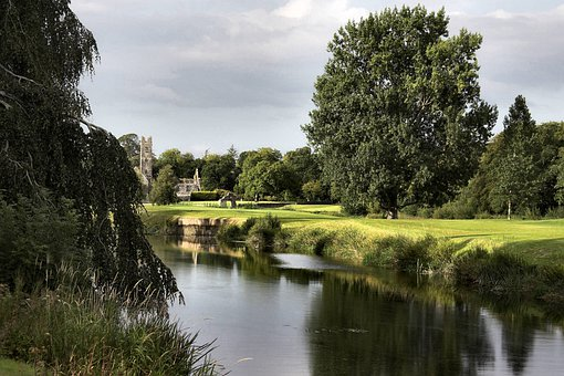 Friary, Park, Nature, Lovely, River, Ireland