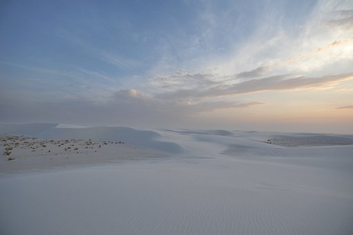 White, Sands, National, Monument, New, Mexico, Sand