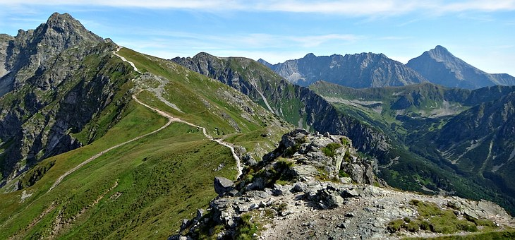 Tatry, Mountains, The High Tatras, Landscape, Tops