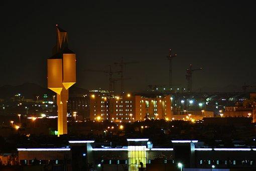 Night, View, Jeddah