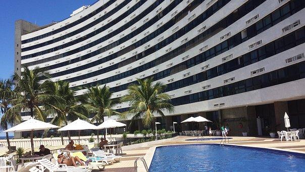 Beach, Pool, Ondina, Hotel, Holidays