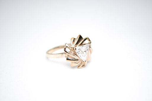 Jewelry, Ring, Women's Ring, Gold, Solver, Engagement