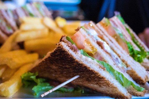 Fries, Sandwich, Club Sandwich, Food, Foodie