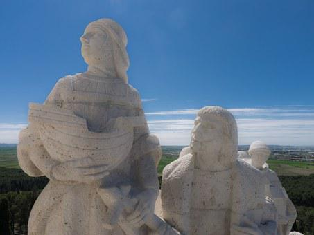 Figures, Statues, Colon, Sculpture, Monument, Religion