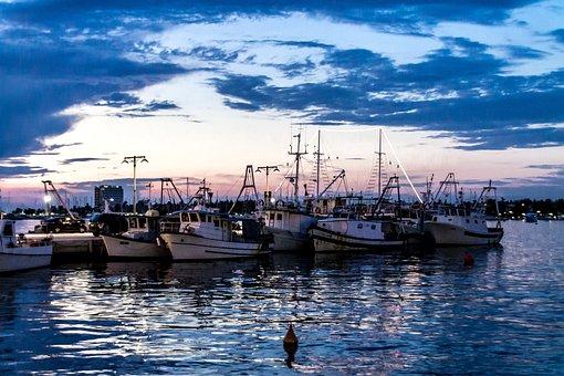 Umag, Port, Ships, Water, Sea