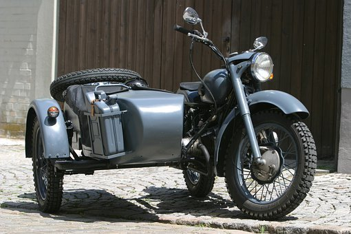 Motorcycle, Historic Motorcycle, Bmw, Bmw 500, Sidecar