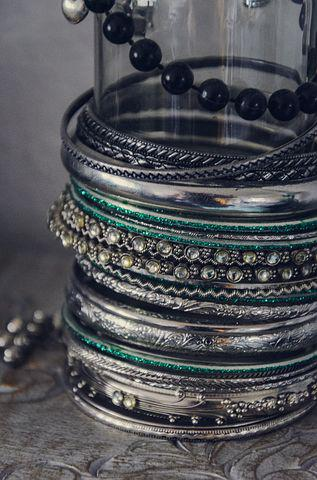 Jewellery, Bangle, Silver, Silver Ring