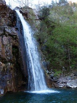 Waterfall, Water, Splash, Storo, Trentino, South Tyrol