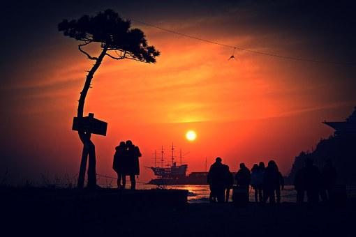 Jung Dong-jin, Japan Sea, Sunrise, Friends, Times, Sea