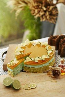 Sweets, Cake, Gift, Dessert, Honey, Lemon, Lime