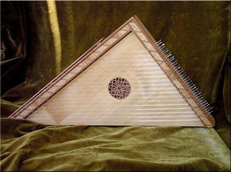 Wooden, Carpentry, Handwork, Art, Music, Instrument
