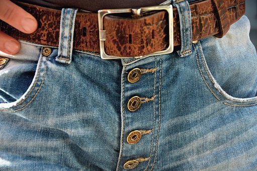 Belts, Buckle, Demin, Jeans, Buttons, Brass, Fashion