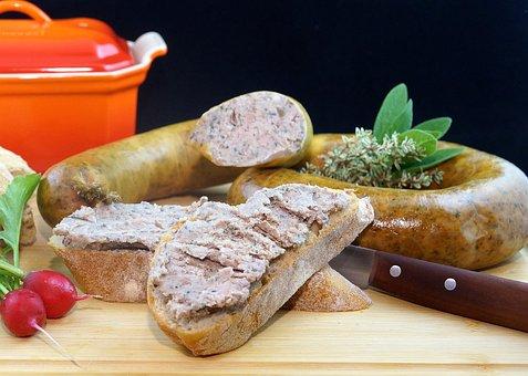 Sausage, Bread, Buns, Vegetables, Ingredients