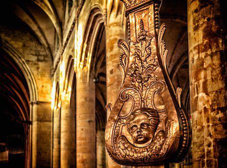 Church, Dom, France, Saint Luh, Normandy, Notre Dame