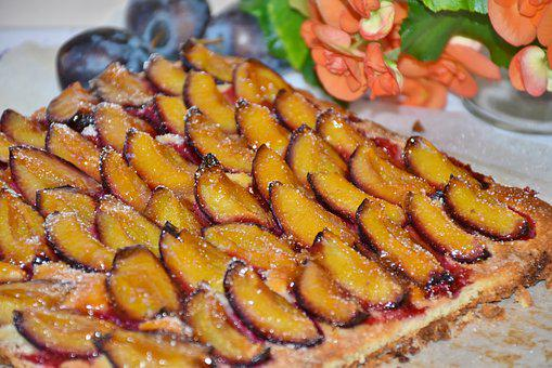 Cake, Plums, Plum Cake, Daayam, Pastries, Sweet