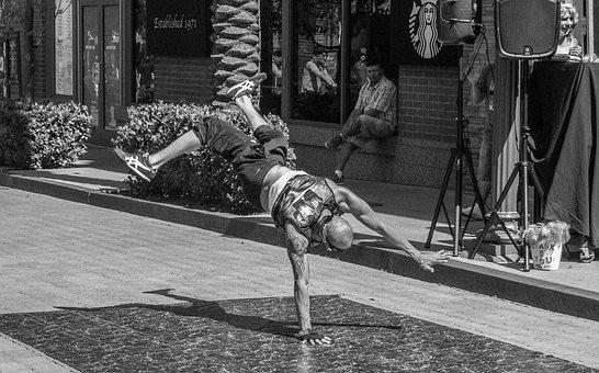 Break Dance, Dance, Motion, Hip-hop, Posing, Action