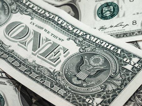 Dollar, Bank Note, Money, Finance, Funds, Us-dollar