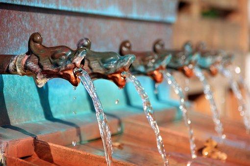 Water, Fountain, Water Fountain, Drinking Fountain
