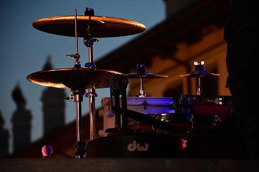 Drums, Music, Drum, Live, Dishes, Concert